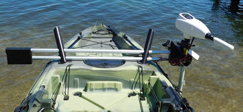 Island Hopper Motor Mount/Trolling Motor Combo for FeelFree Lure 10, 11.5, and 13.5 Angler Kayaks