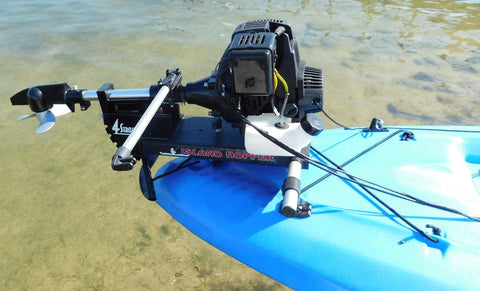 Island Hopper Honda 2-HP Gas-Powered Transom-Mount Kayak Motor