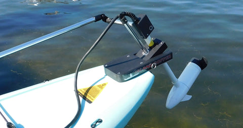 Island Hopper Transom Motors for Power Pole Ready Stand Up Paddleboards (SUPs)