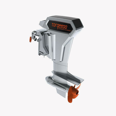 Torqeedo Cruise 10.0 RL (long shaft) Electric Outboard Motor/Remote Throttle - [price] | Trolling Motors Online
