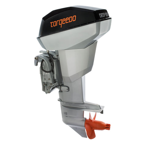 Torqeedo Deep Blue 40 R Remote Throttle Electric Outboard – 40 HP Equivalent – Fresh or Saltwater