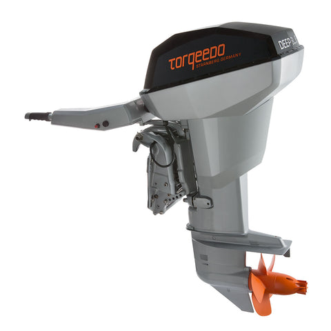 Torqeedo Deep Blue 80 T Tiller Steering Electric Outboard – 80 HP Equivalent – Fresh or Saltwater