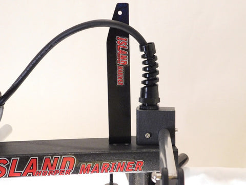 Island Hopper Transom-Mount Motor for Most Kayaks without Existing Rudder Systems - [price] | Trolling Motors Online