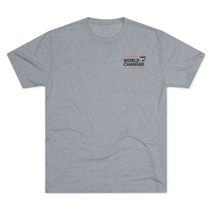 Men's World Changer Tri-Blend Crew Tee