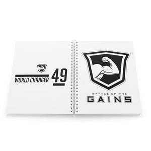 Gains Spiral Notebook