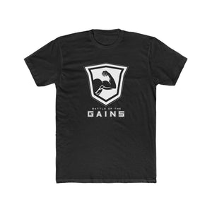 Men's Gains T-Shirt (Black)