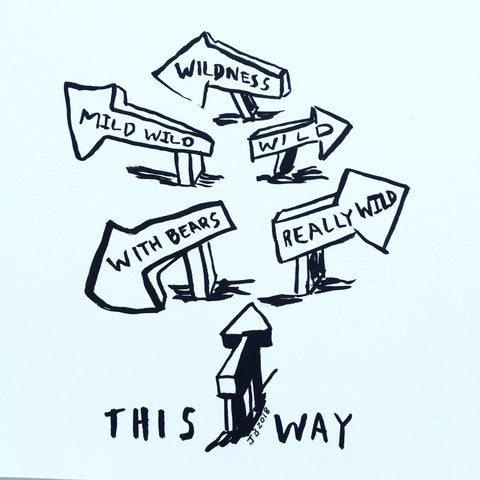This way to the wild.drawing.digitalprint.thjtppn.2017