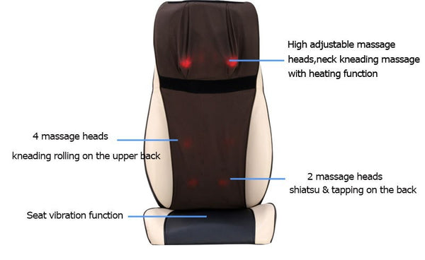 Intense Dual Seat Topper MD-80350C - Youneed Massage Chair Richmond Vancouver Canada