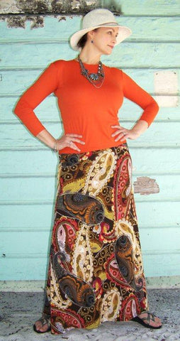 Tipsy Gypsy Maxi Skirt