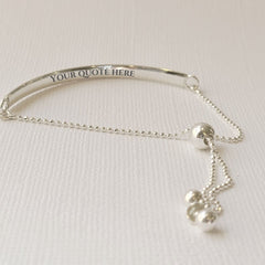 silver buy one give one bracelet
