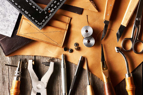 Watch leather band production 2
