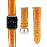 Marzi Poco Premium Quality Italian Toscana Leather Watch Strap for Apple Watch Series 1 ,2 & 3 (Napoli Yellow) - Premium leather Apple Watch Band,   - Premium leather Apple Watch Band, marzipoco - Marzi Poco, marzi poco  - Marzi Poco