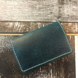 Stylish Italian Premium Leather Unisex Pouch. Credit Card Holder. Pockets for Cash or ID (Naro Blue) - Premium leather Apple Watch Band,   - Premium leather Apple Watch Band, marzi poco - Marzi Poco, marzi poco  - Marzi Poco
