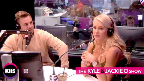 the bachelorette ali oetjen laud timepieces marble gold brown watch kyle and jackie o show kiis fm