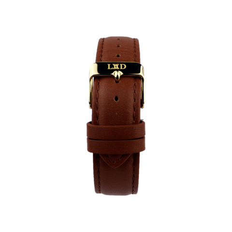 Brown Interchangeable Leather Strap