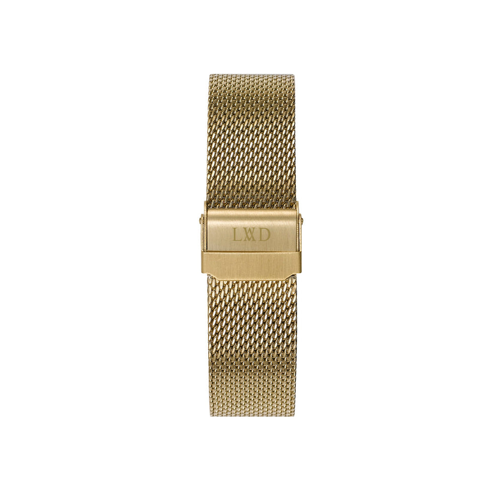GOLD stainless steel mesh interchangeable watch strap