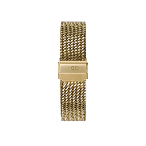 Gold Interchangeable Mesh Strap