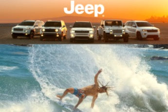 AK in the New Jeep Commercial!