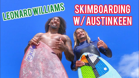 AK Leonard Williams Skimboard