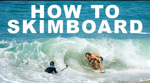 How to Skimboard with World Champion, Austin Keen