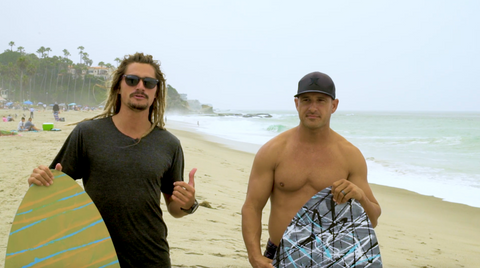 How to skimboard - skimboarding lessons laguna beach