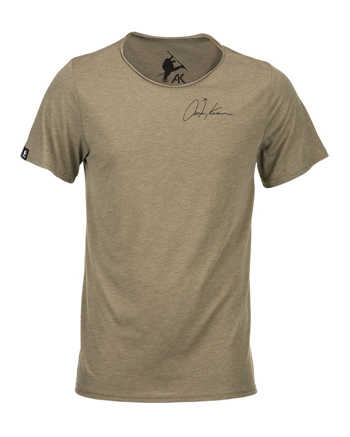 Low Neck Signature Palm Tee