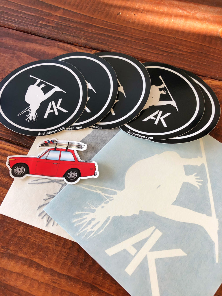 The Austin Keen Sticker Pack
