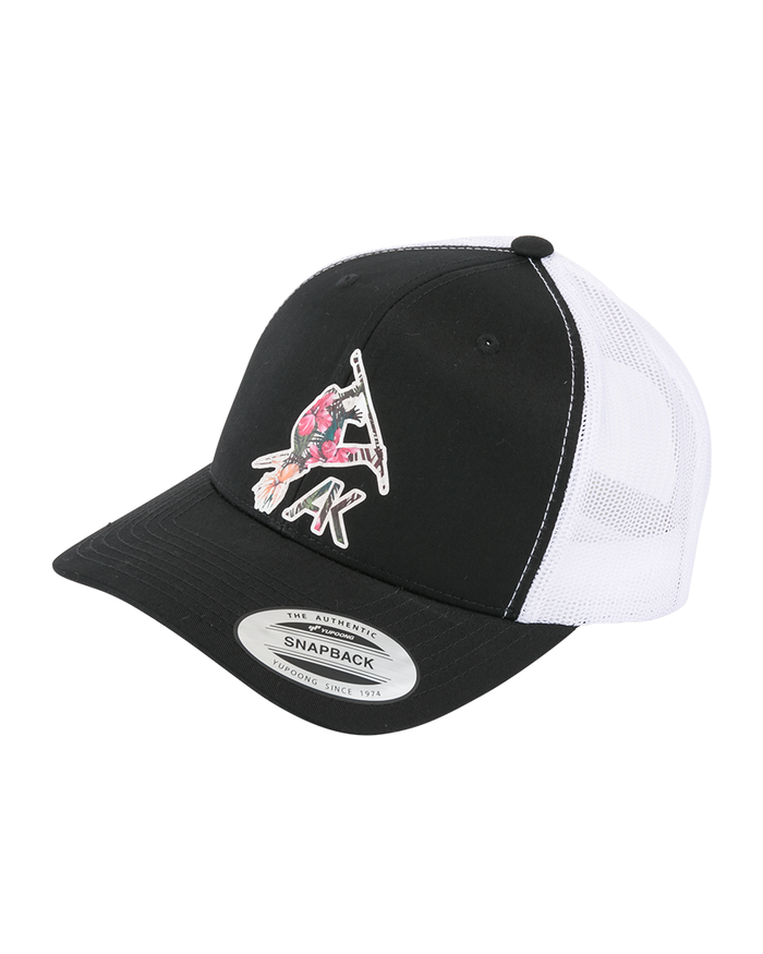 Aloha Trucker Snapback - Black/White