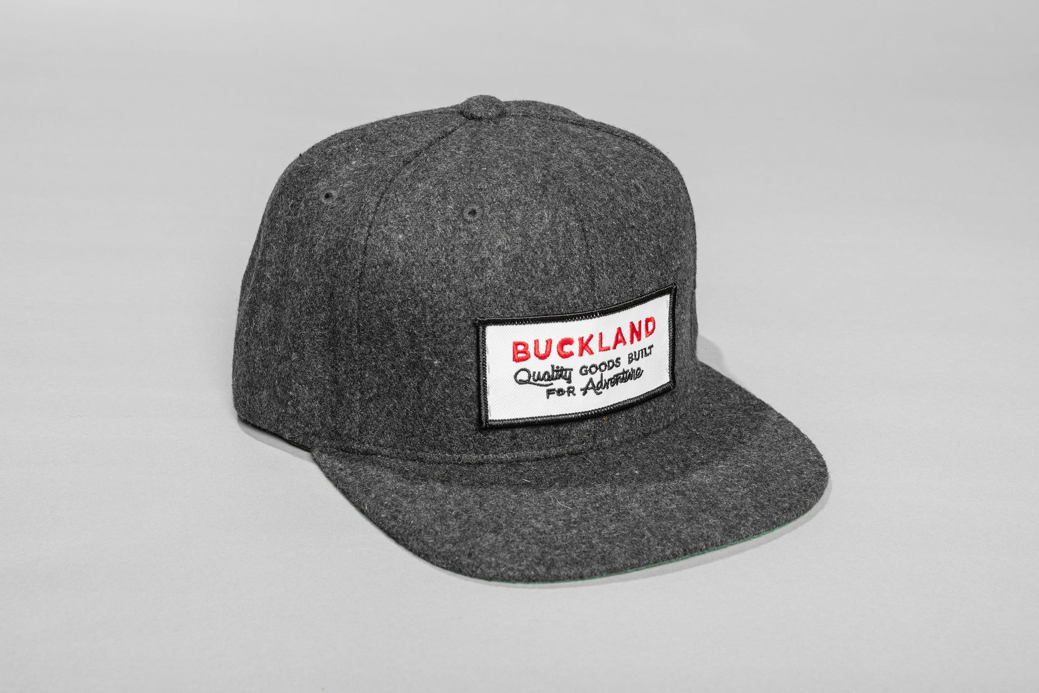 Wool Hat with Buckland Patch