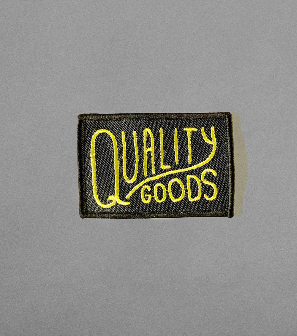 Quality Goods patch 3 inch
