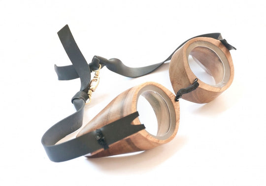 Handcrafted Teak Wooden Goggles