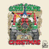 Going Gnome for Christmas Jeep Sublimation Transfer