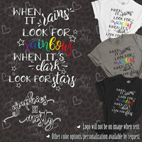 When it Rains Look for Rainbows When its Dark Look for Stars Sublimation Transfer