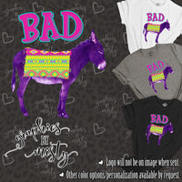 Bad Ass Donkey Sublimation Transfer