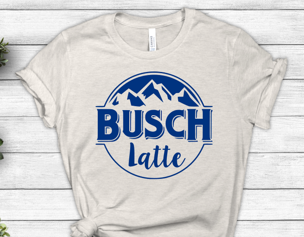 Busch Latte SVG File