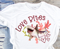 Love Bites Sublimation PNG Digital Design