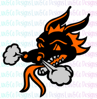 Dragon Head SVG File