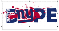 New York Giants Football DOPE SVG PNG Digital Design