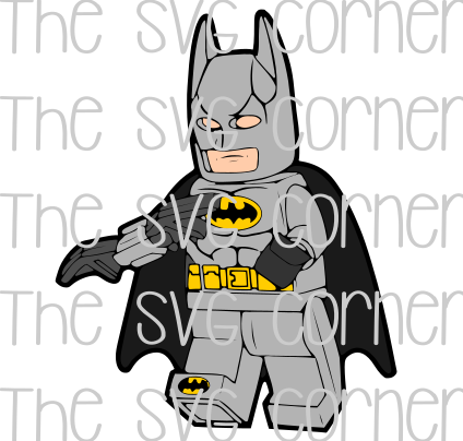 Lego Batman SVG File