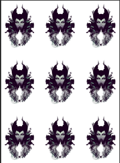 Maleficent Evil Queen Waterslide Sheet