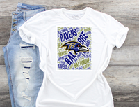 Baltimore Ravens Sublimation Transfer