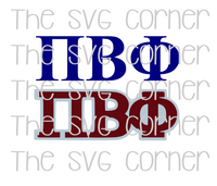 Pi Beta Phi SVG File