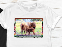 Yak Serape Sublimation PNG Digital Design
