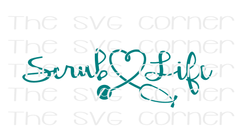 Scrub Life SVG File