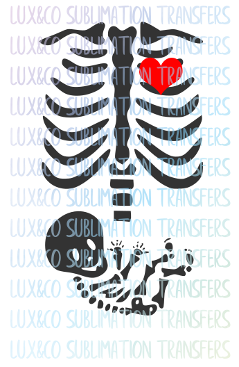 Baby Skeleton Halloween SVG File