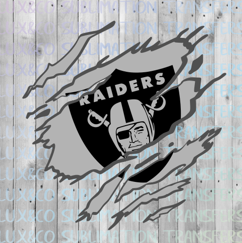 Raiders Claw SVG Digital Design