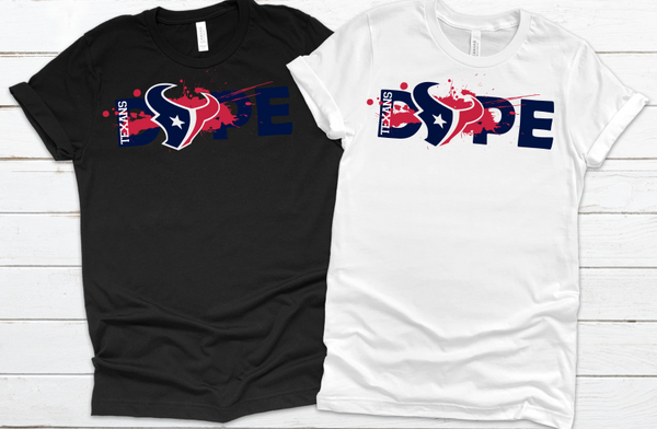 Houston Texans Football DOPE SVG PNG Digital Design