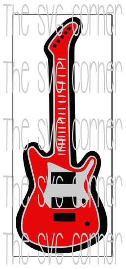 Guitar SVG File
