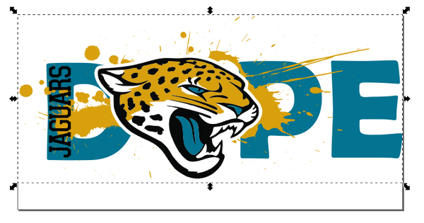 Jacksonville Jaguars Football DOPE SVG PNG Digital Design