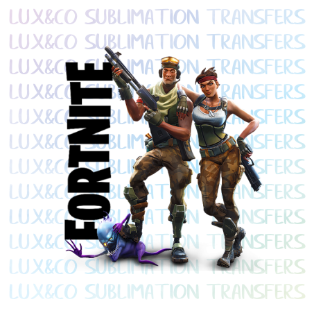 Fortnite Sublimation Transfer